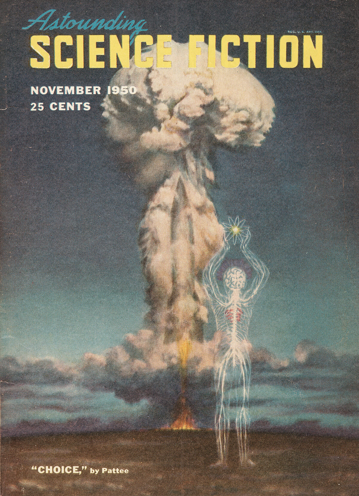Astounding Science Fiction Nov 1950