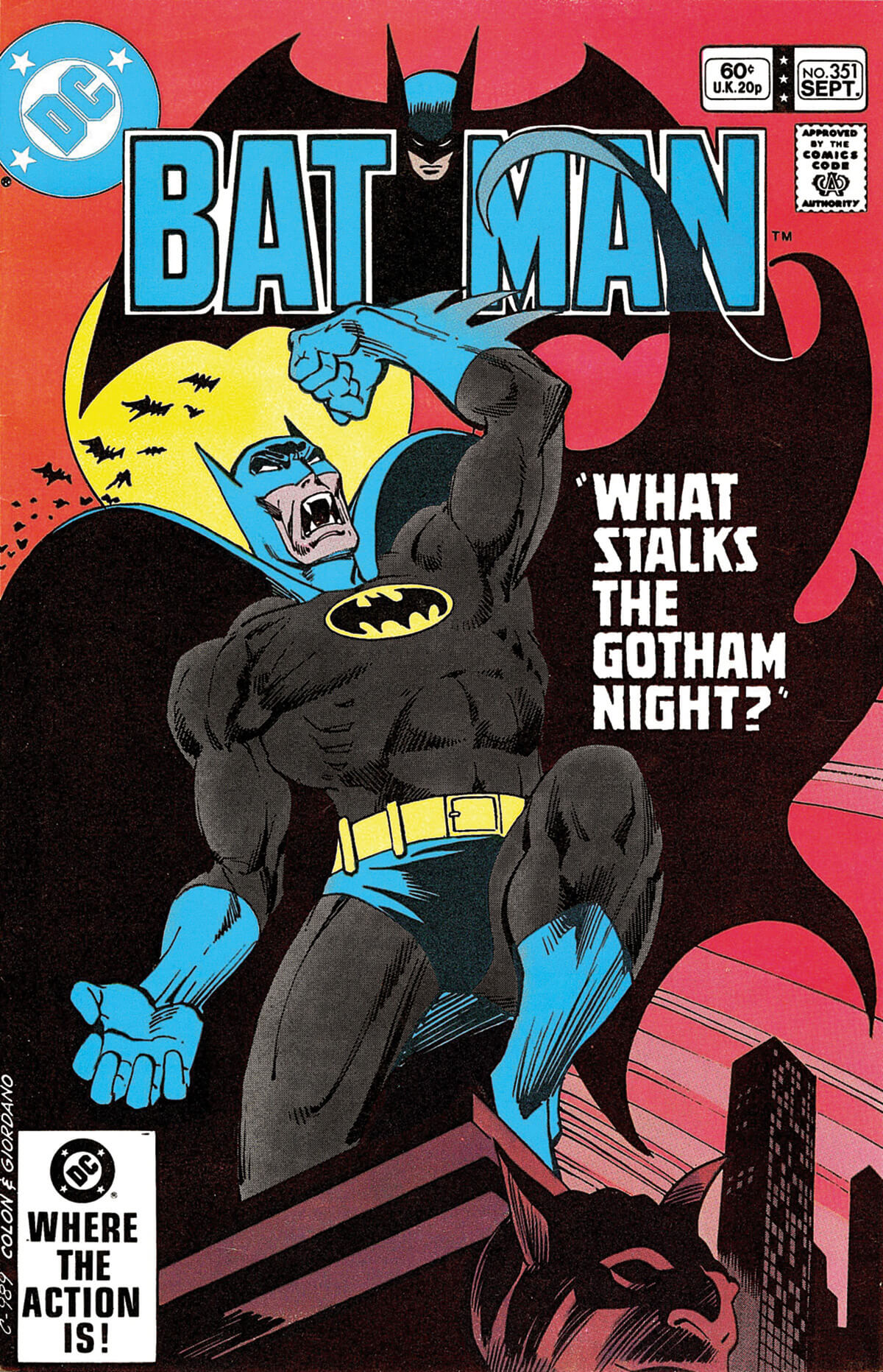 Batman 351 by Ernie Colon and Dick Giordano