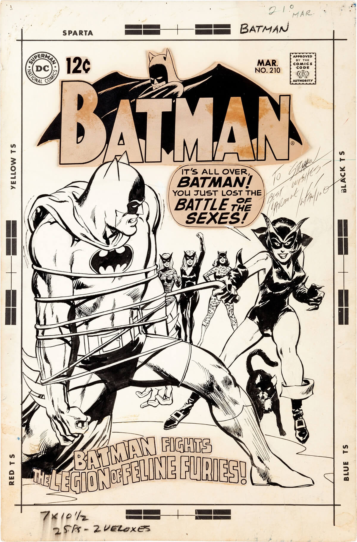 Batman 210 Cover by Neal Adams