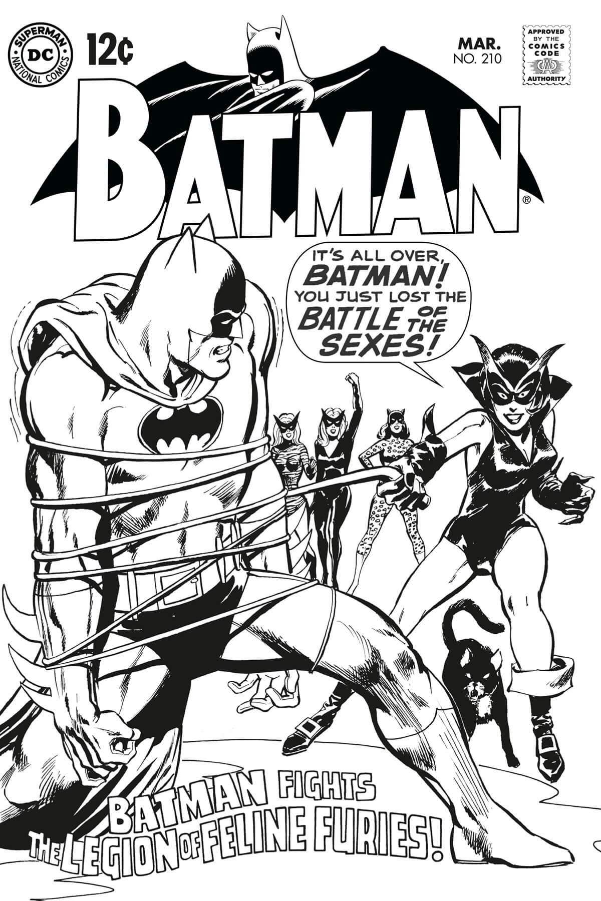 Batman 210 Cover Restoration by Scott Dutton