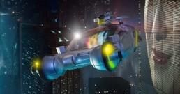 Blade Runner Syd Mead Spinner OG