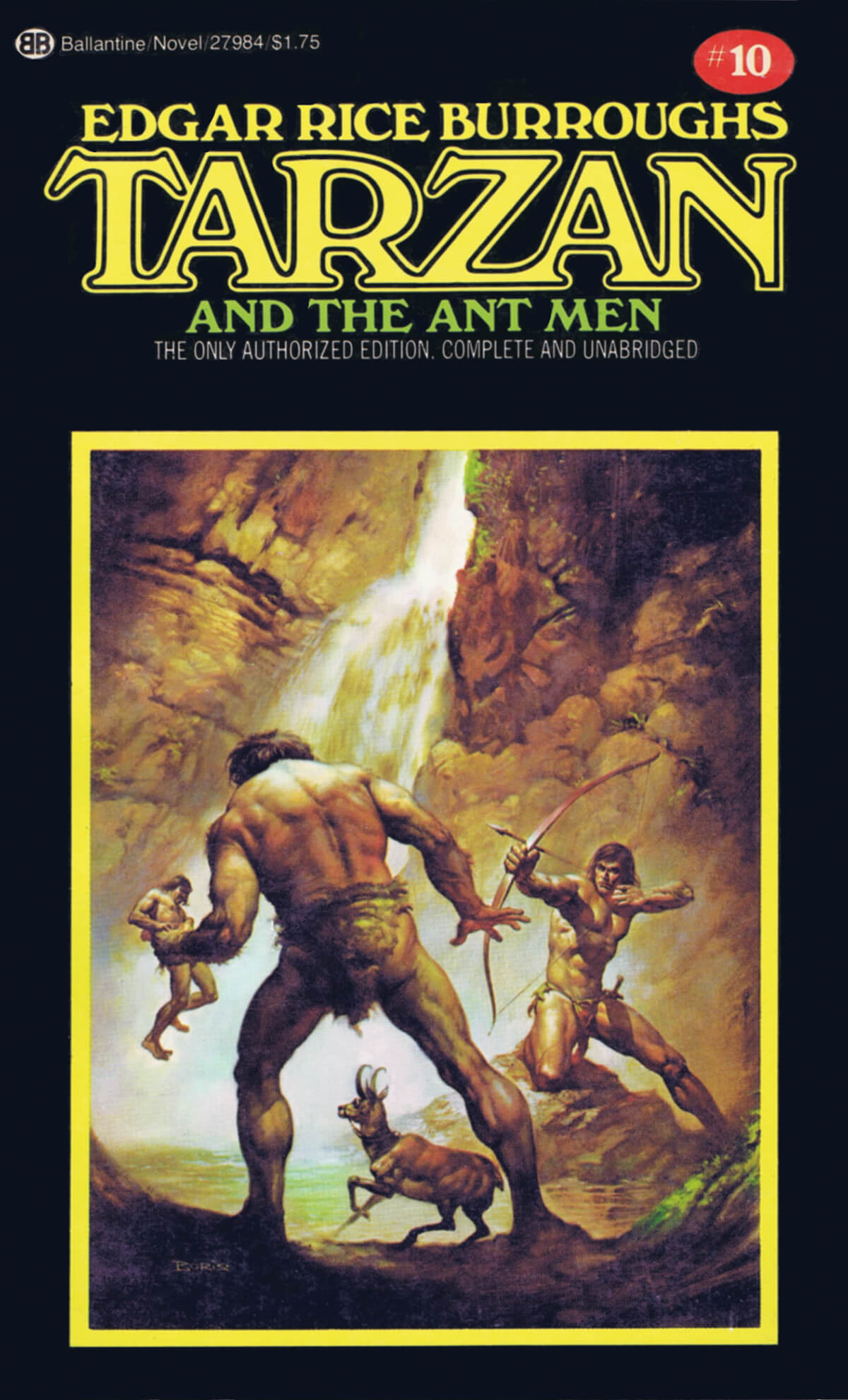 Boris Vallejo 10 Tarzan And The Ant Men Cover