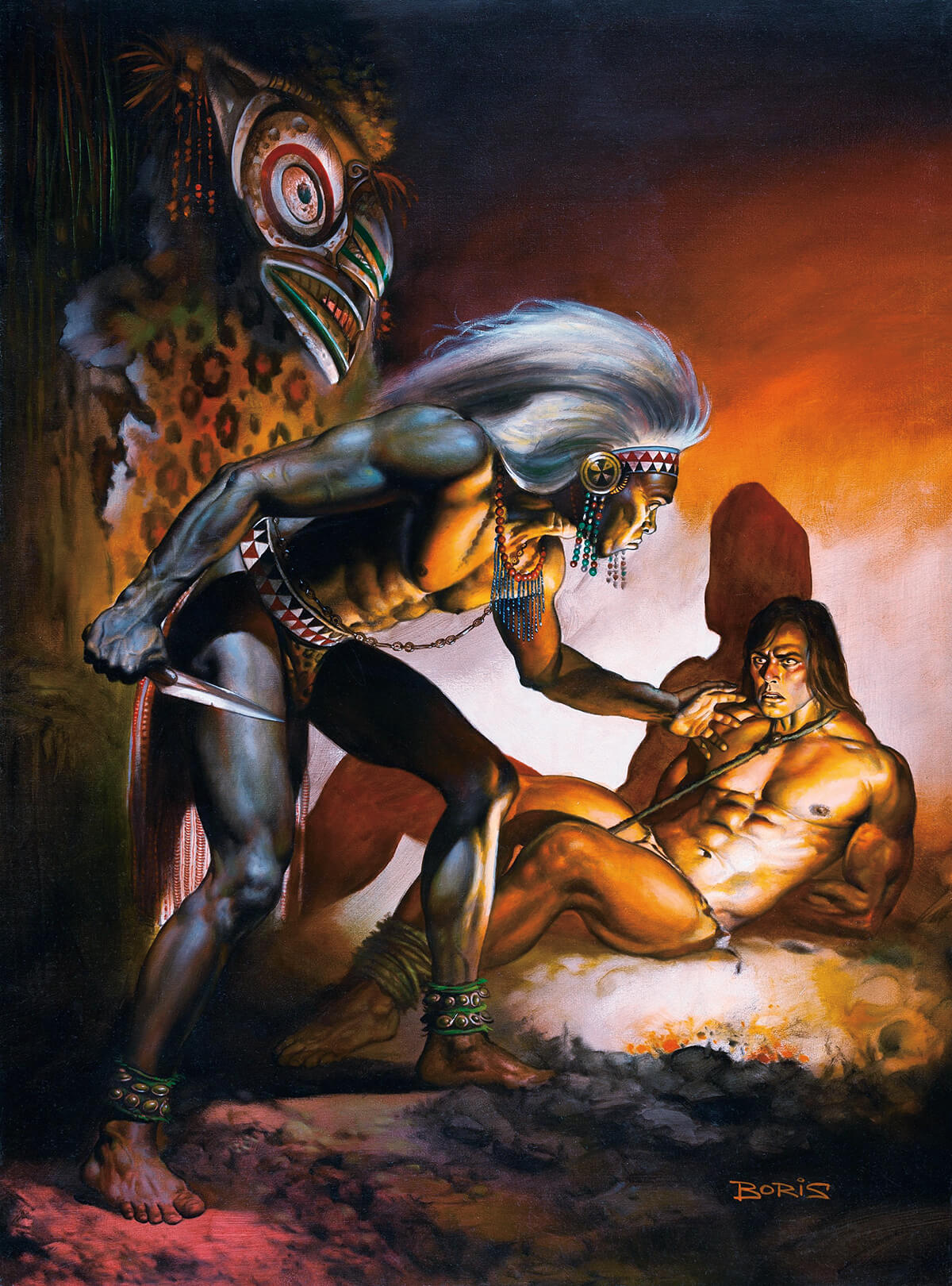 Boris Vallejo 19 Tarzans Quest Original
