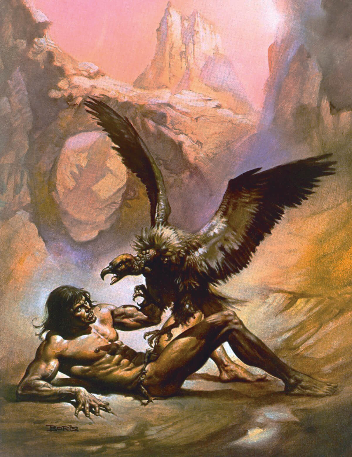 Boris Vallejo 7 Tarzan The Untamed Original