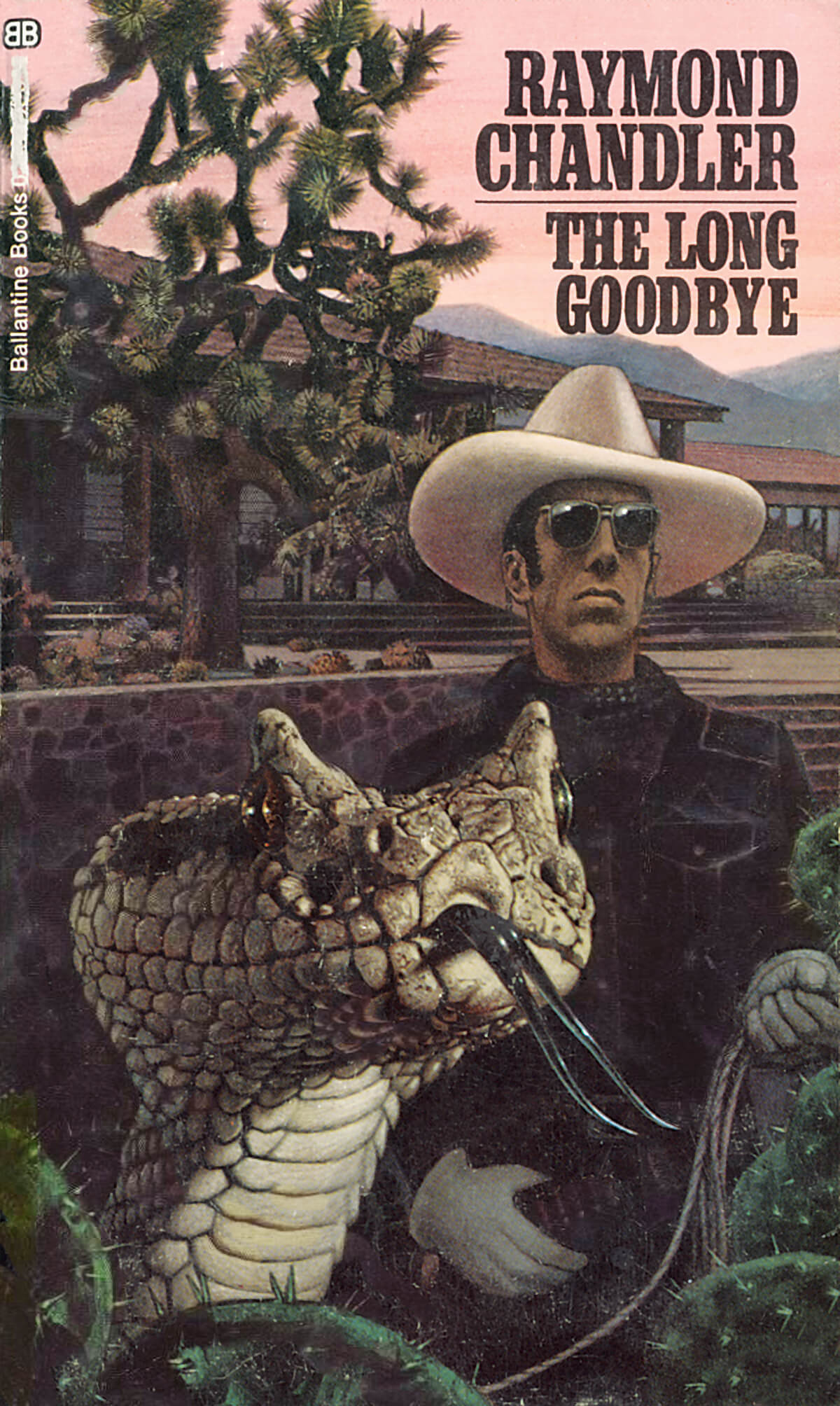 The Long Goodbye by Raymond Chandler, Cover by Tom Adams