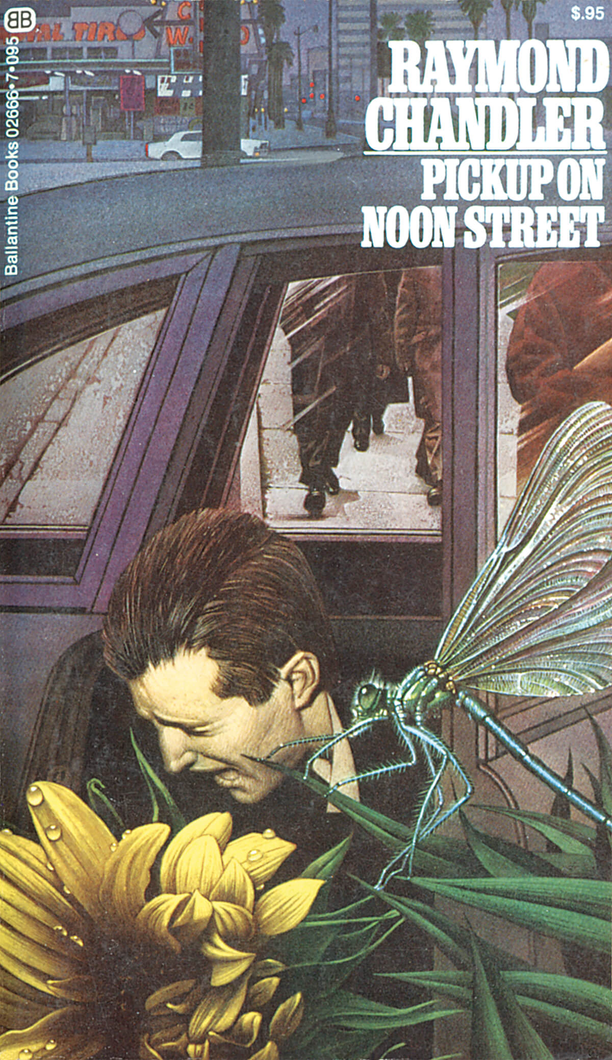 Pickup on Noon Street by Raymond Chandler, Cover by Tom Adams