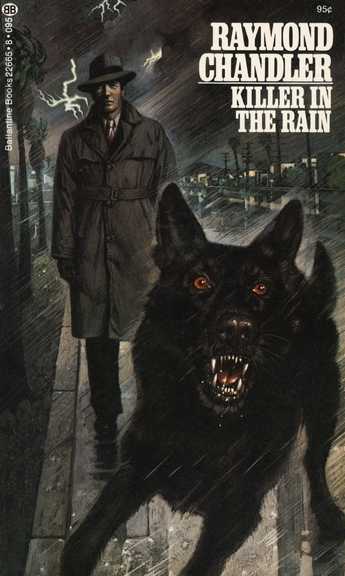 Killer in the Rain by Raymond Chandler, Cover by Tom Adams