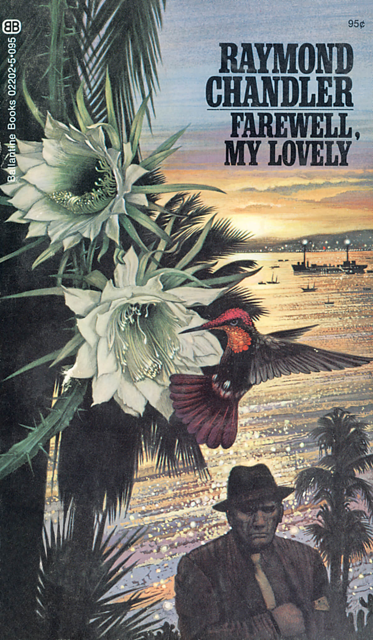 Farewell My Lovely by Raymond Chandler, Cover by Tom Adams