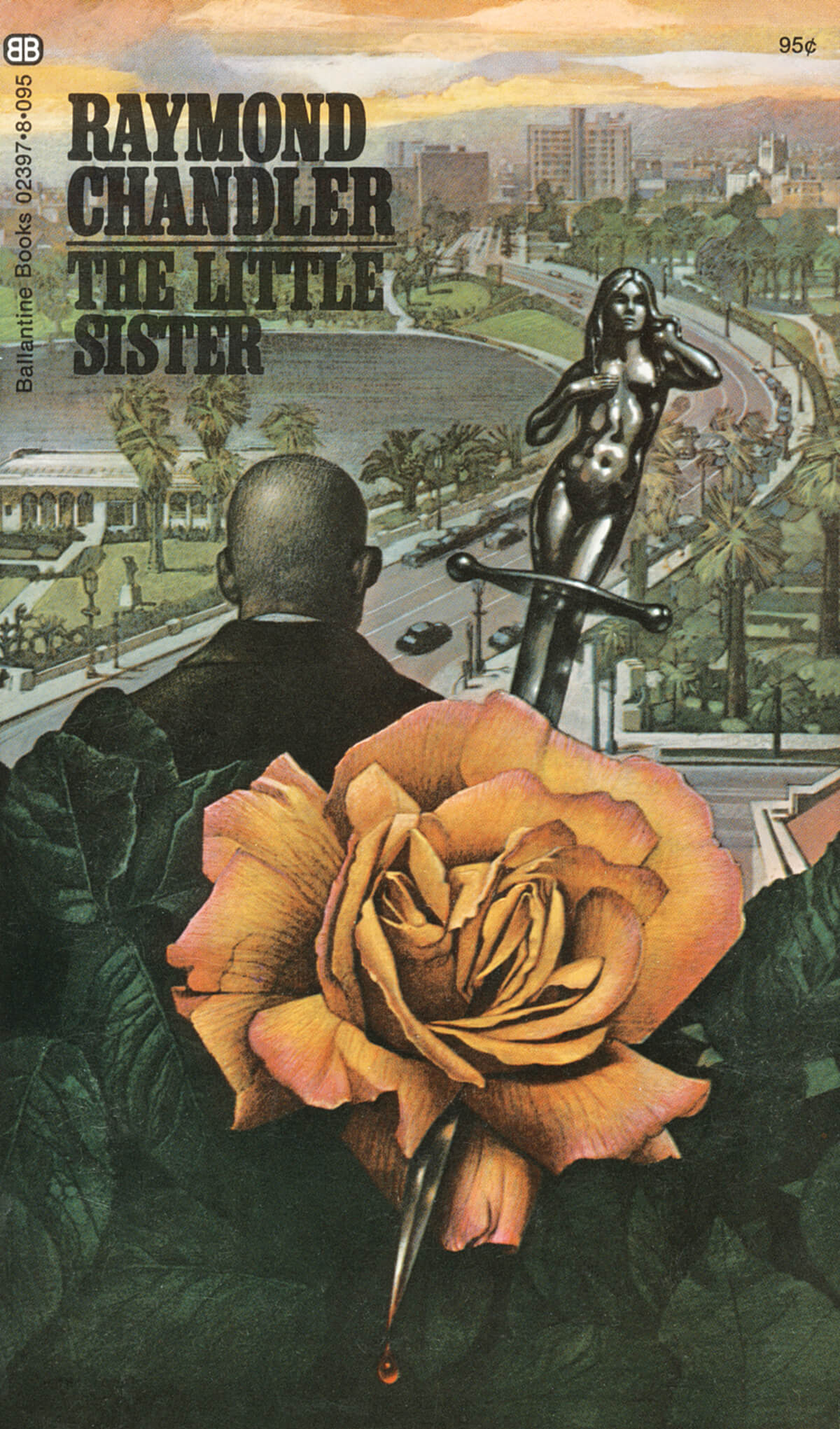 The Little Sister by Raymond Chandler, Cover by Tom Adams