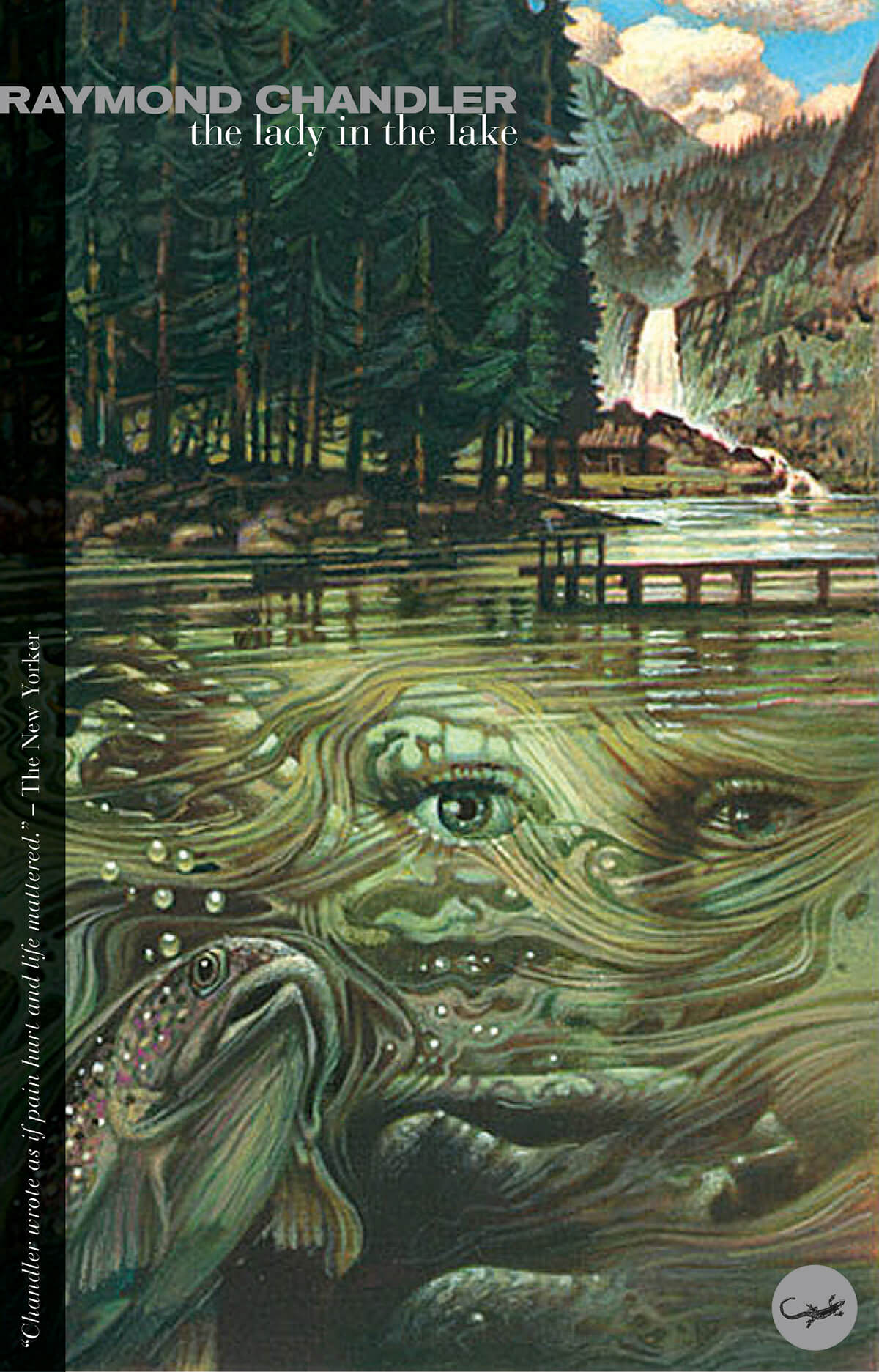 The Lady in the Lake Cover by Tom Adams