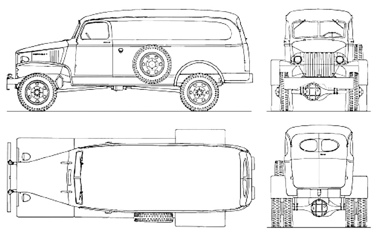 Chevrolet G7105 Diagram