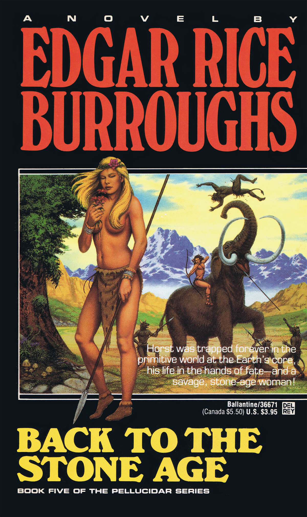 David B Mattingly Pellucidar 5 Back To The Stone Age
