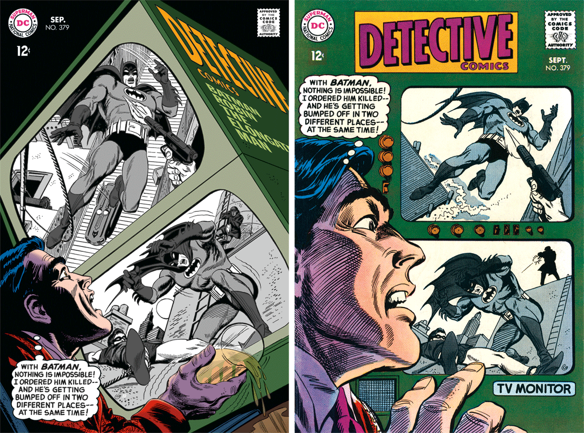 Detective Comics 379 Cover by Irv Novick