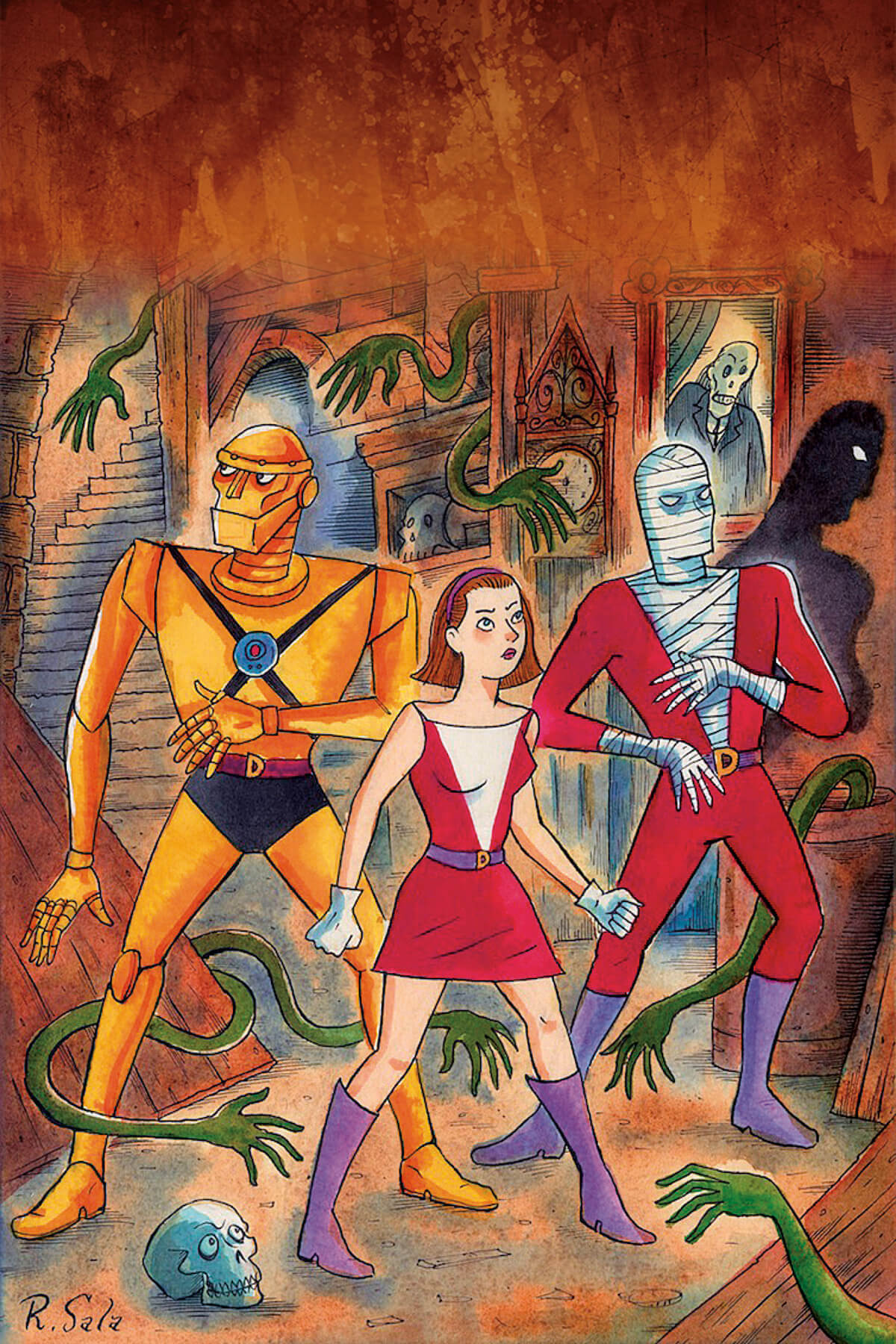 Doom Patrol by Richard Sala
