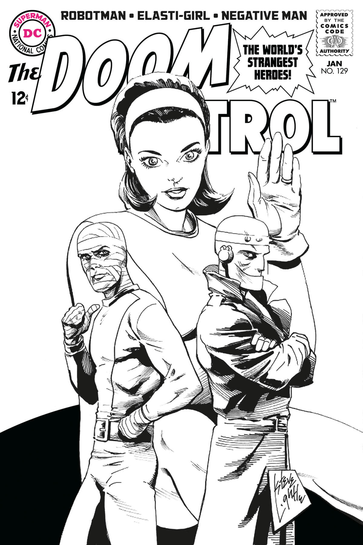 Doom Patrol by Steve Lightle