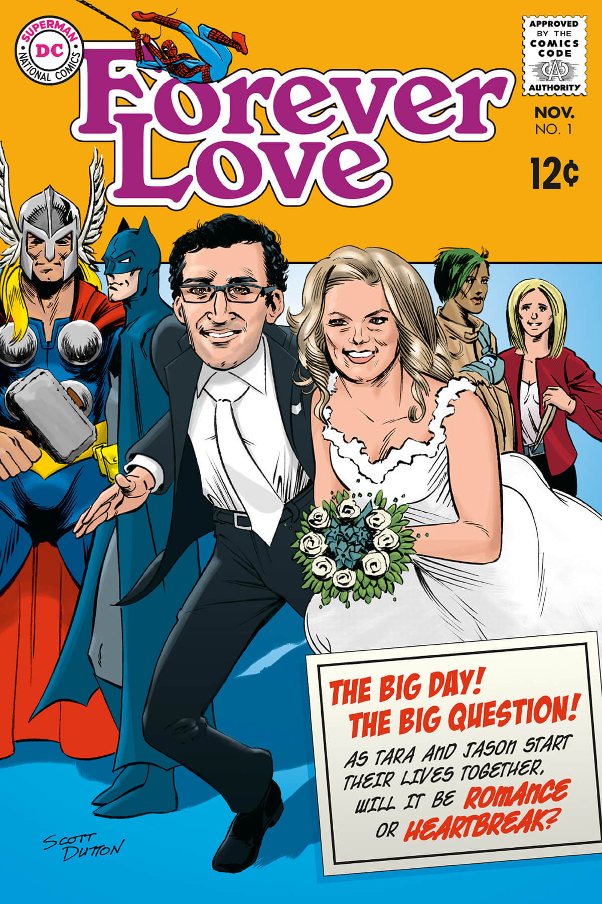 Forever Love Comic Book Cover