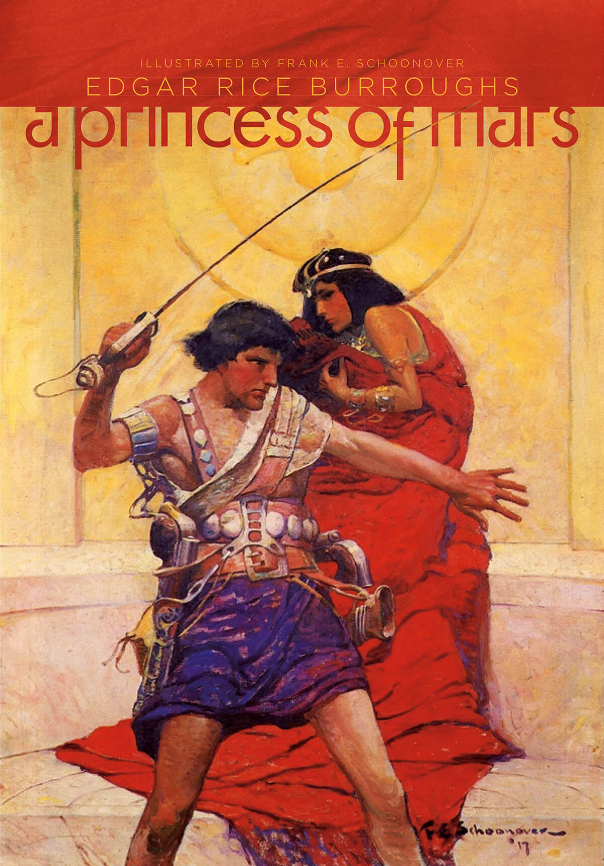 Frank Schoonover Princess Of Mars Cover 2