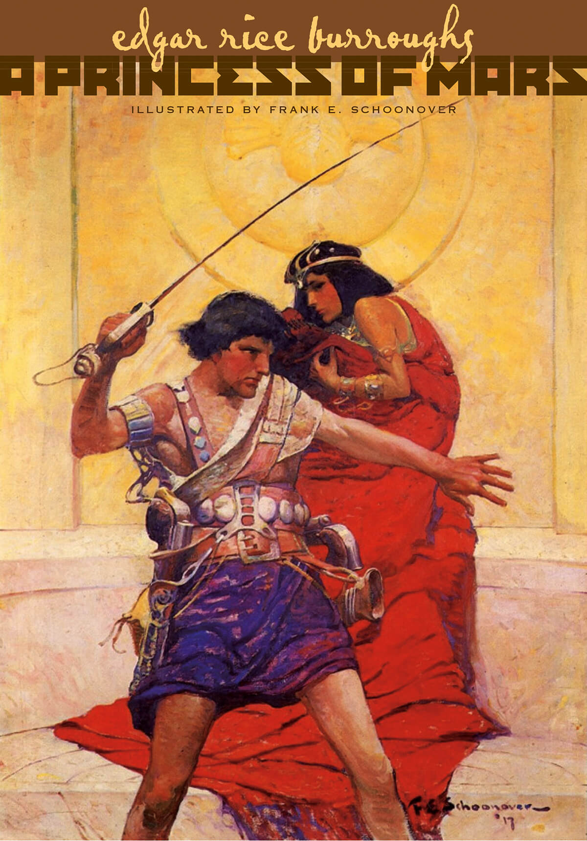 Frank Schoonover Princess Of Mars Cover 5