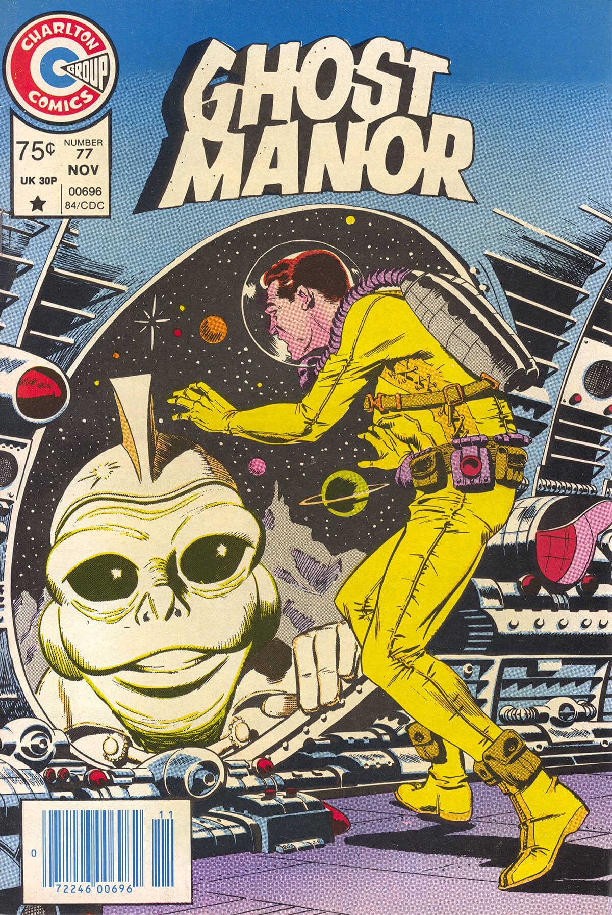 Charlton Comics Ghost Manor 77