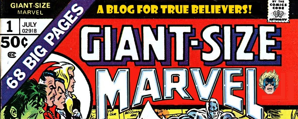 Giant-Size Marvel Banner by Richard Guion