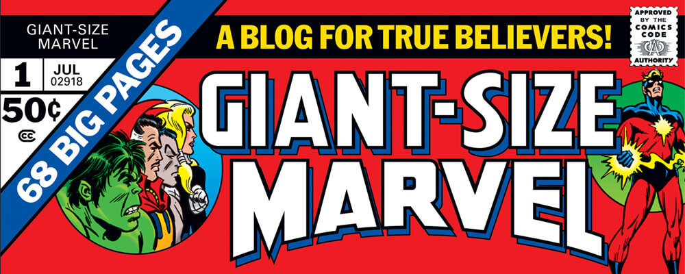 Giant-Size Marvel Banner by Scott Dutton