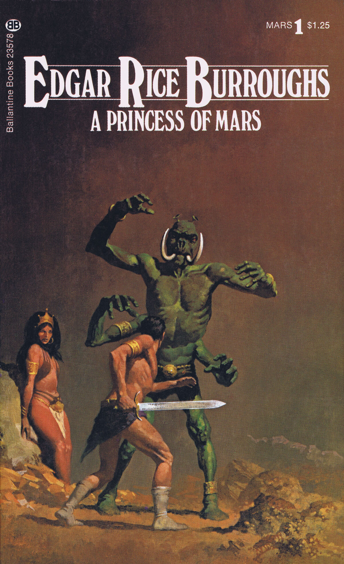 Gino Dachille 1 A Princess Of Mars Cover