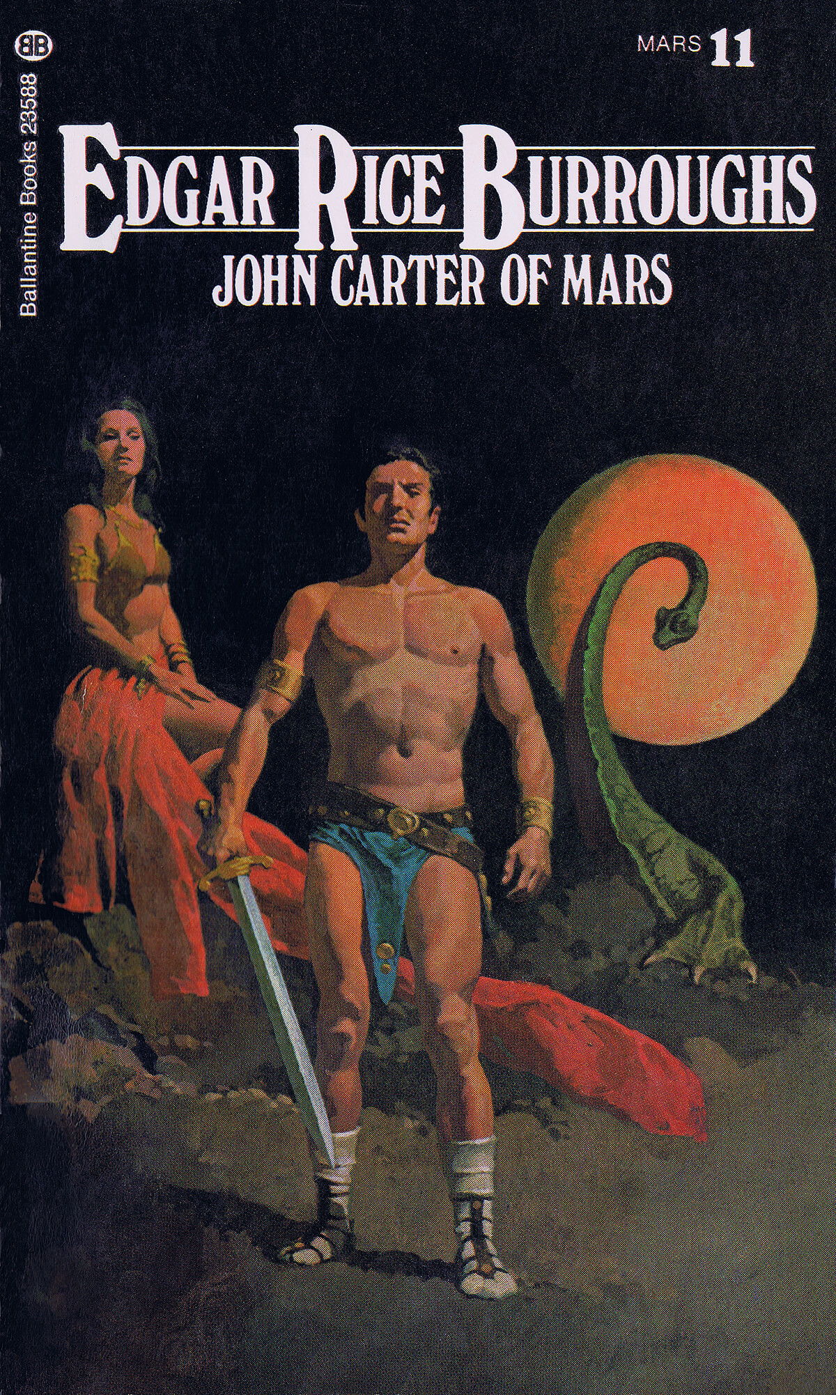 Gino Dachille 11 John Carter Of Mars Cover
