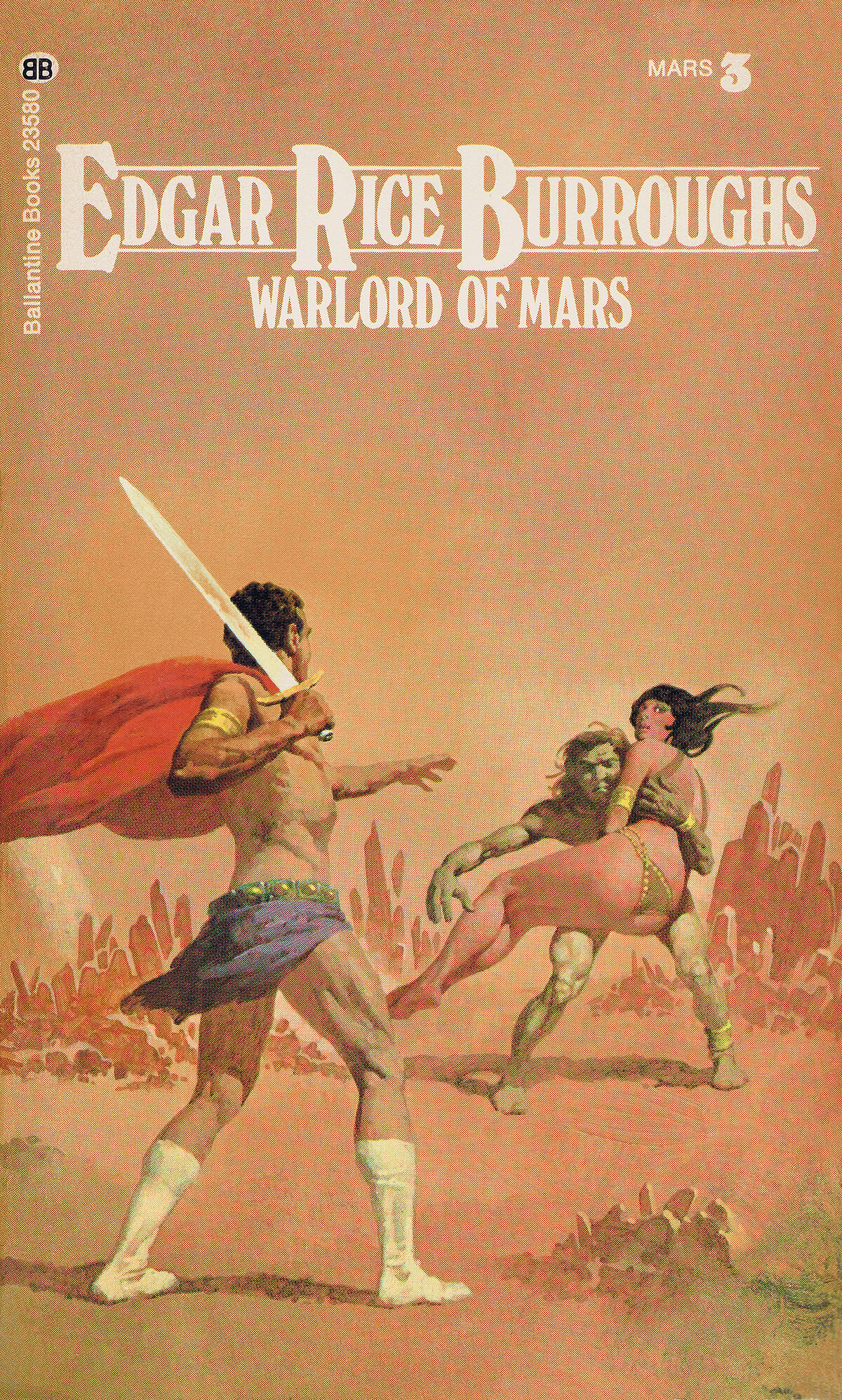 Gino Dachille 3 The Warlord Of Mars Cover