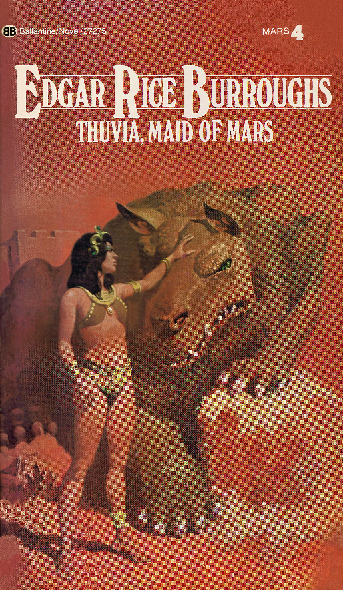 Gino Dachille 4 Thuvia Maid Of Mars Cover