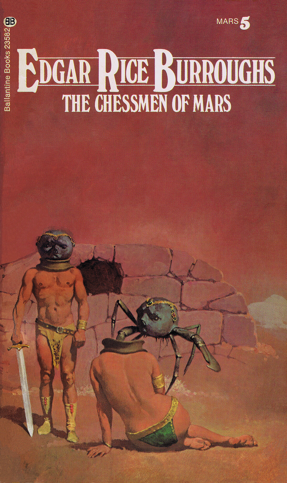 Gino Dachille 5 The Chessmen Of Mars Cover