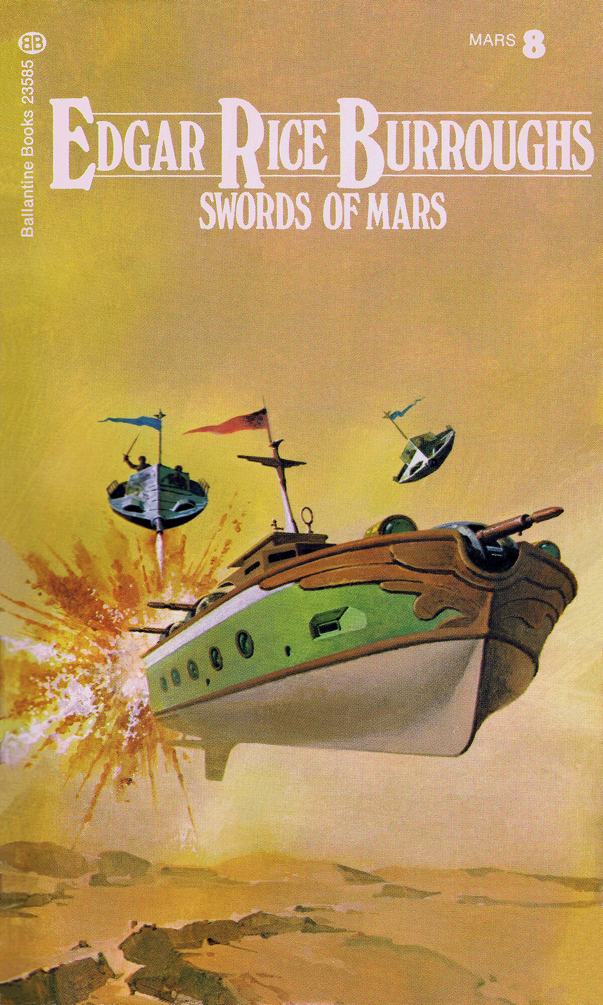 Gino Dachille 8 Swords Of Mars Cover