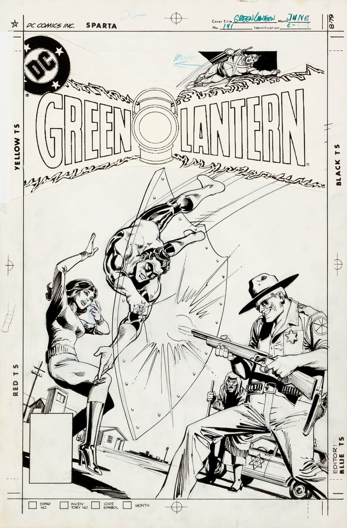 Green Lantern 141 Cover by Dick Giordano