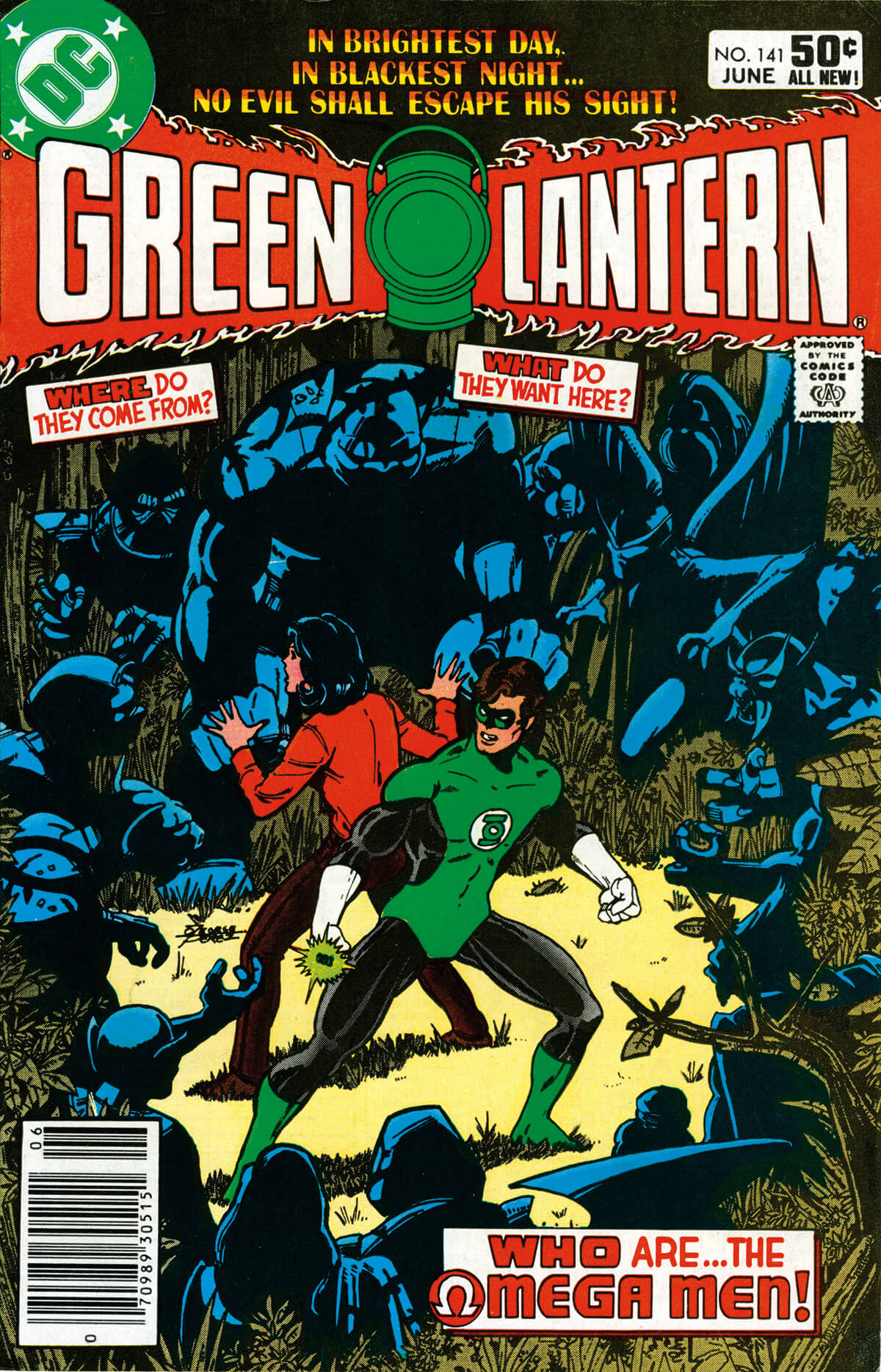 Green Lantern 141 Cover by George Pérez