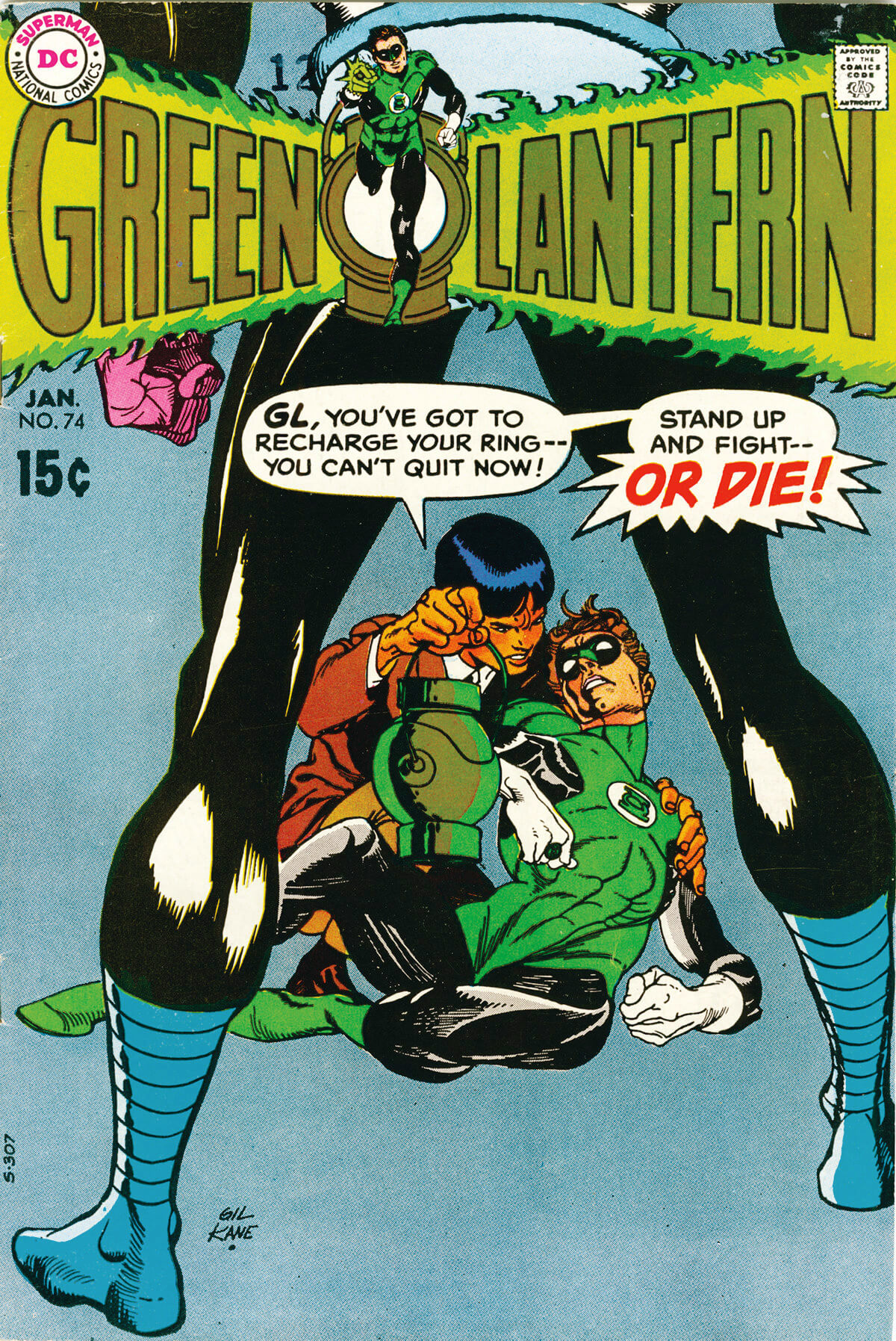 Green Lantern 74 Cover by Gil Kane