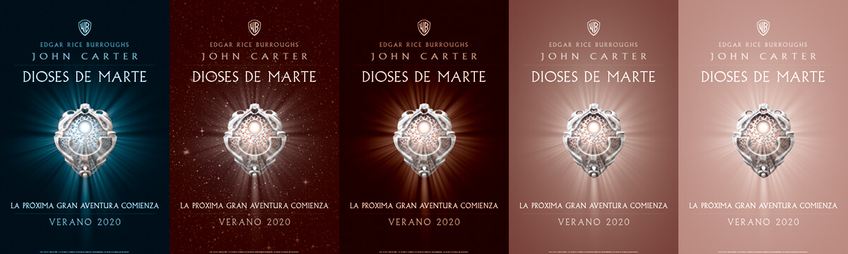 John Carter Of Mars Poster Spanish Espanol