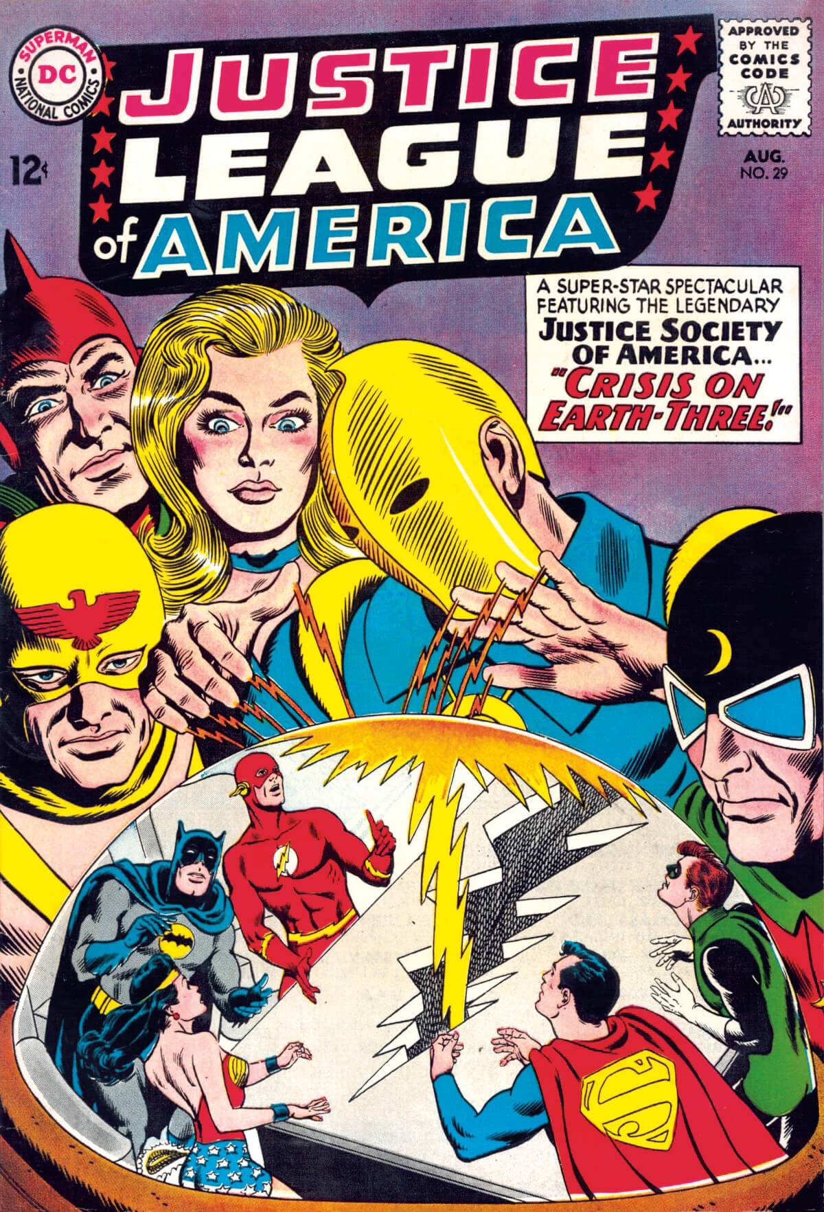 Justice League of America 29 by Murphy Anderson