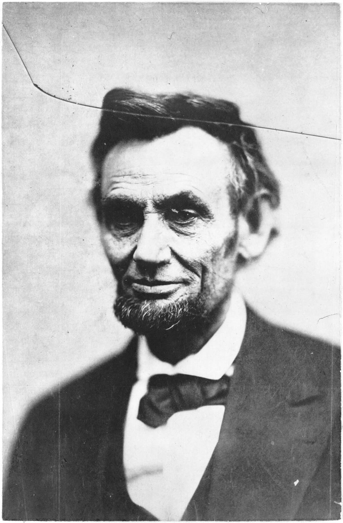 The Last Photograph of Lincoln from Life
