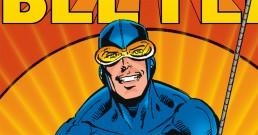 Blue Beetle Cover by Bob Layton OG