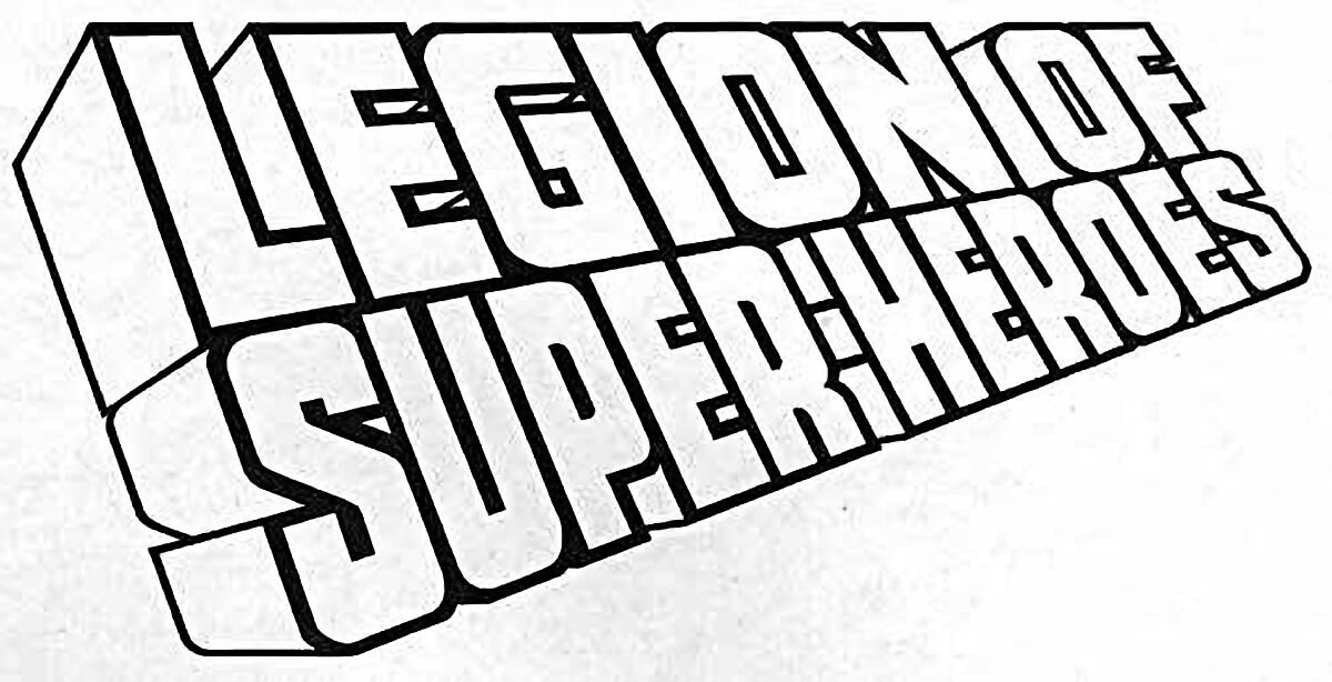 Legion of Super-Heroes Logo by Todd Klein