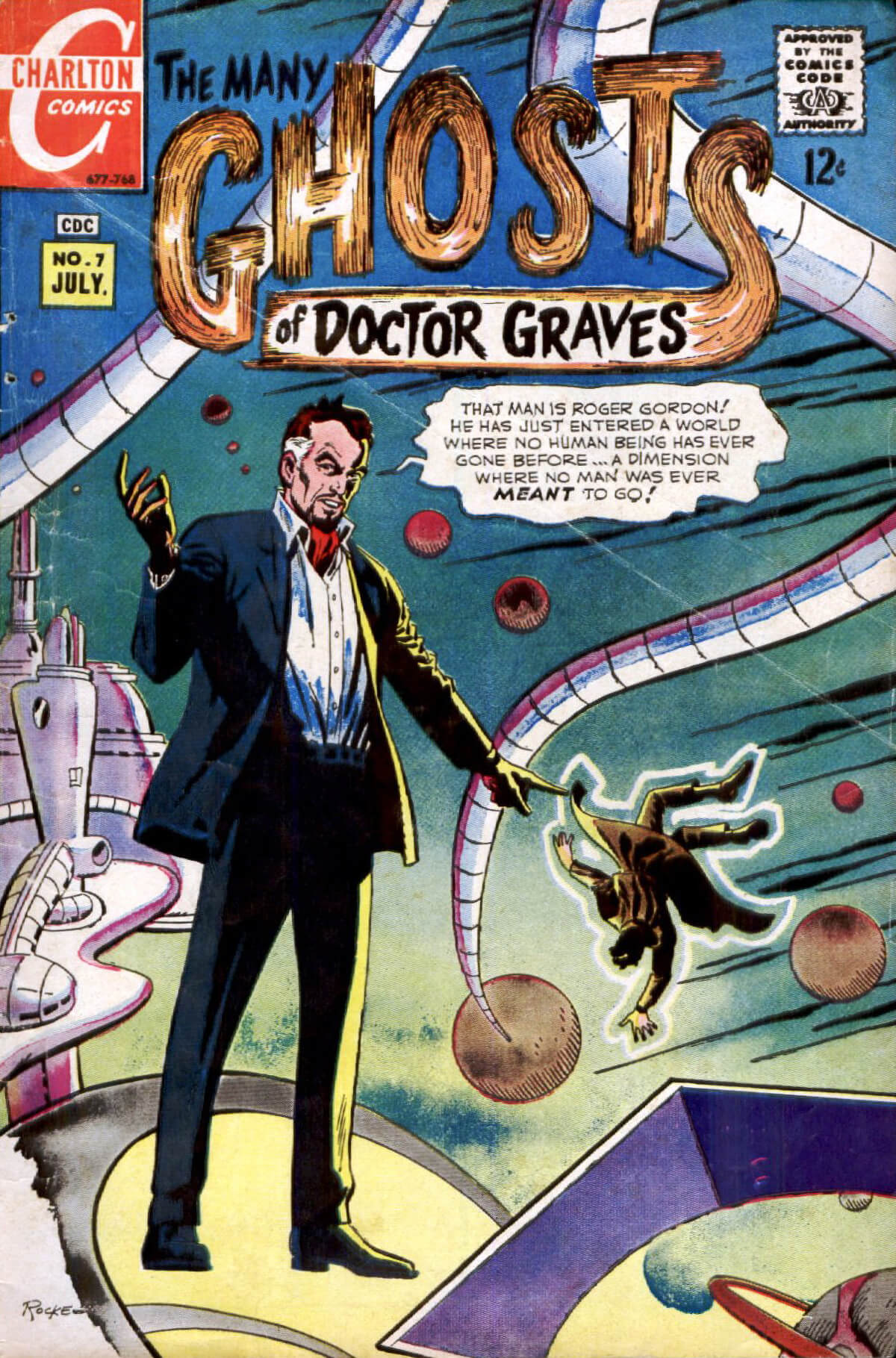 Charlton Comics Many Ghosts Of Dr Graves 7