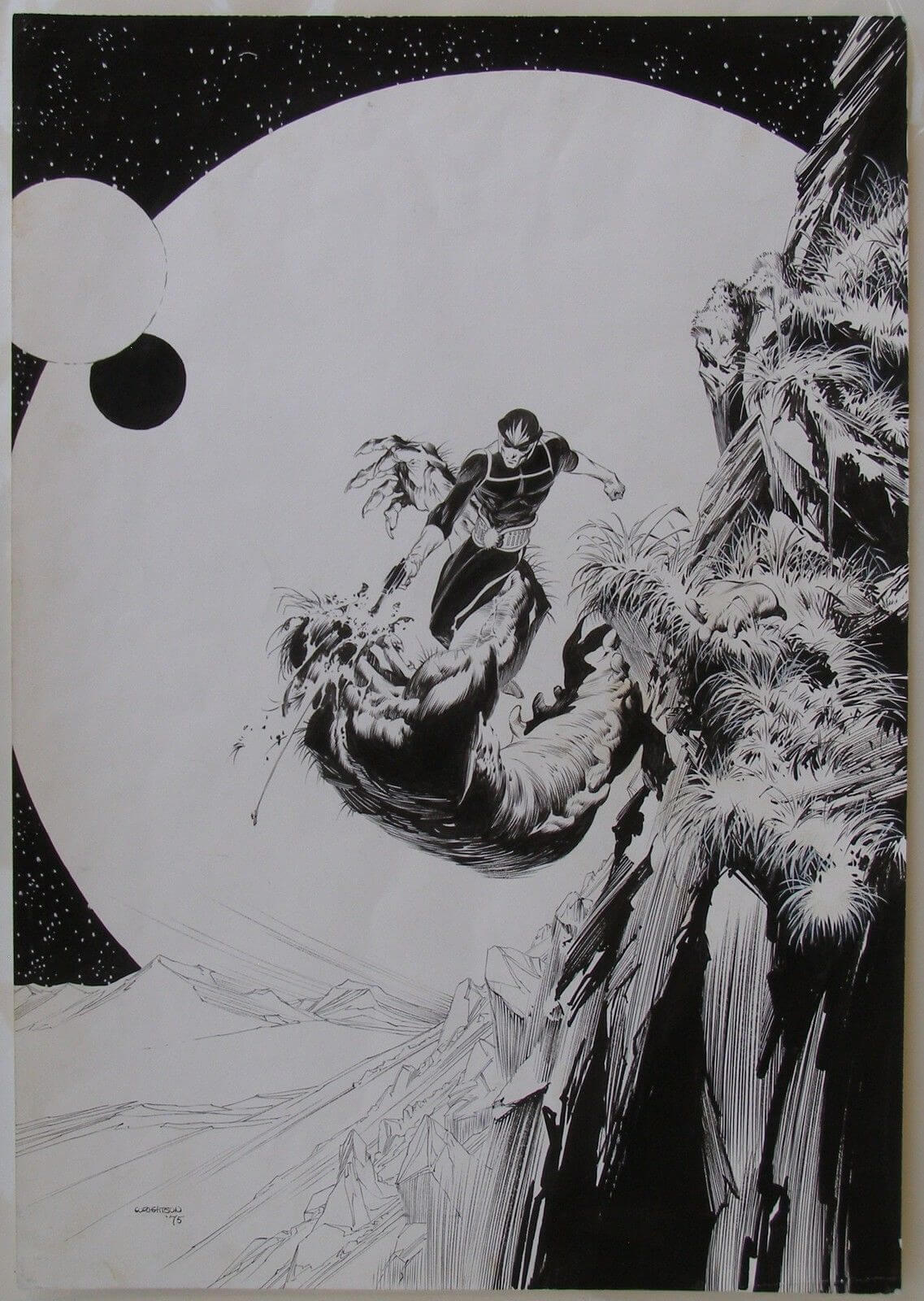 Star-Lord by Bernie Wrightson