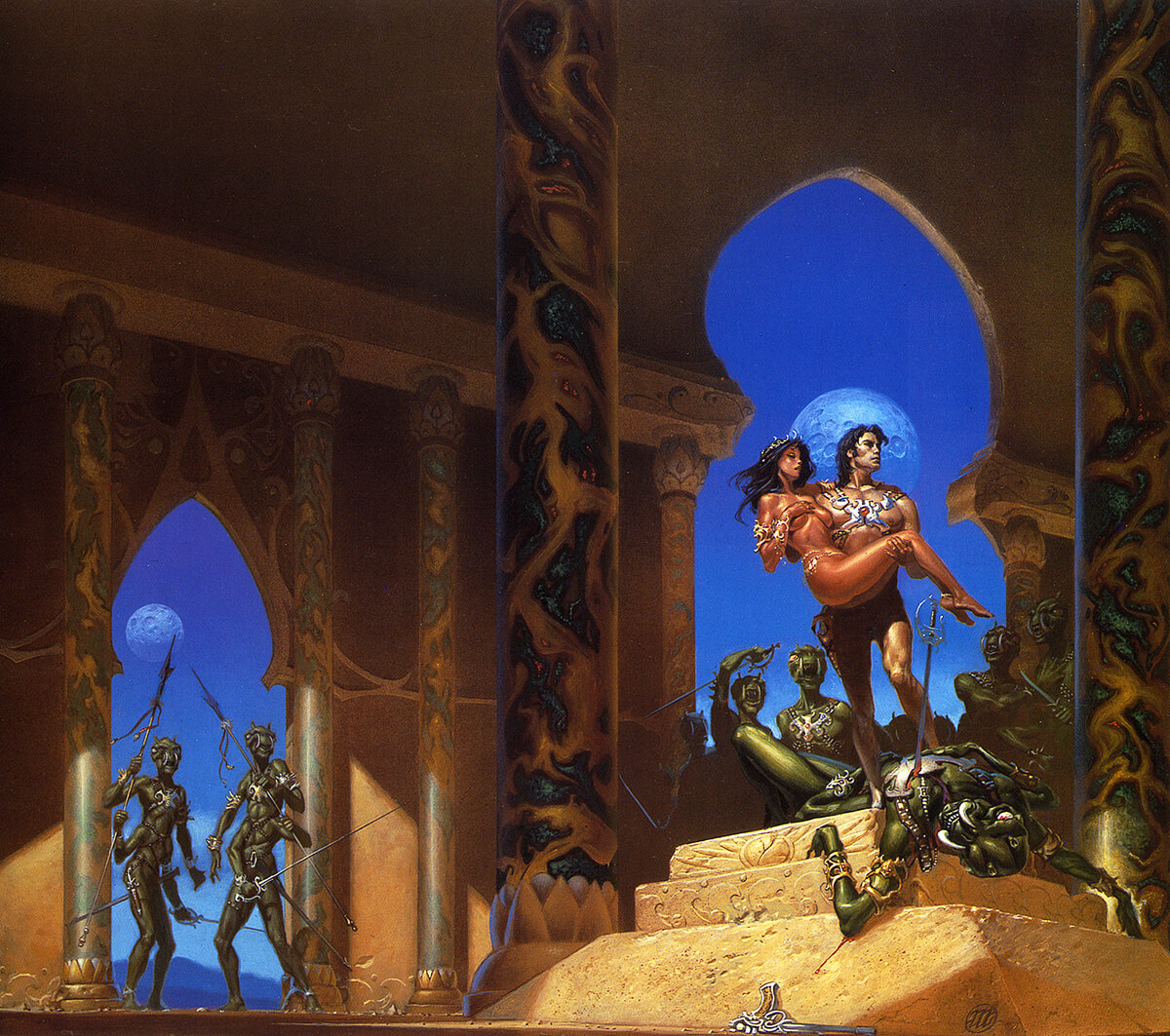 Michael Whelan 1 Princess Of Mars Original