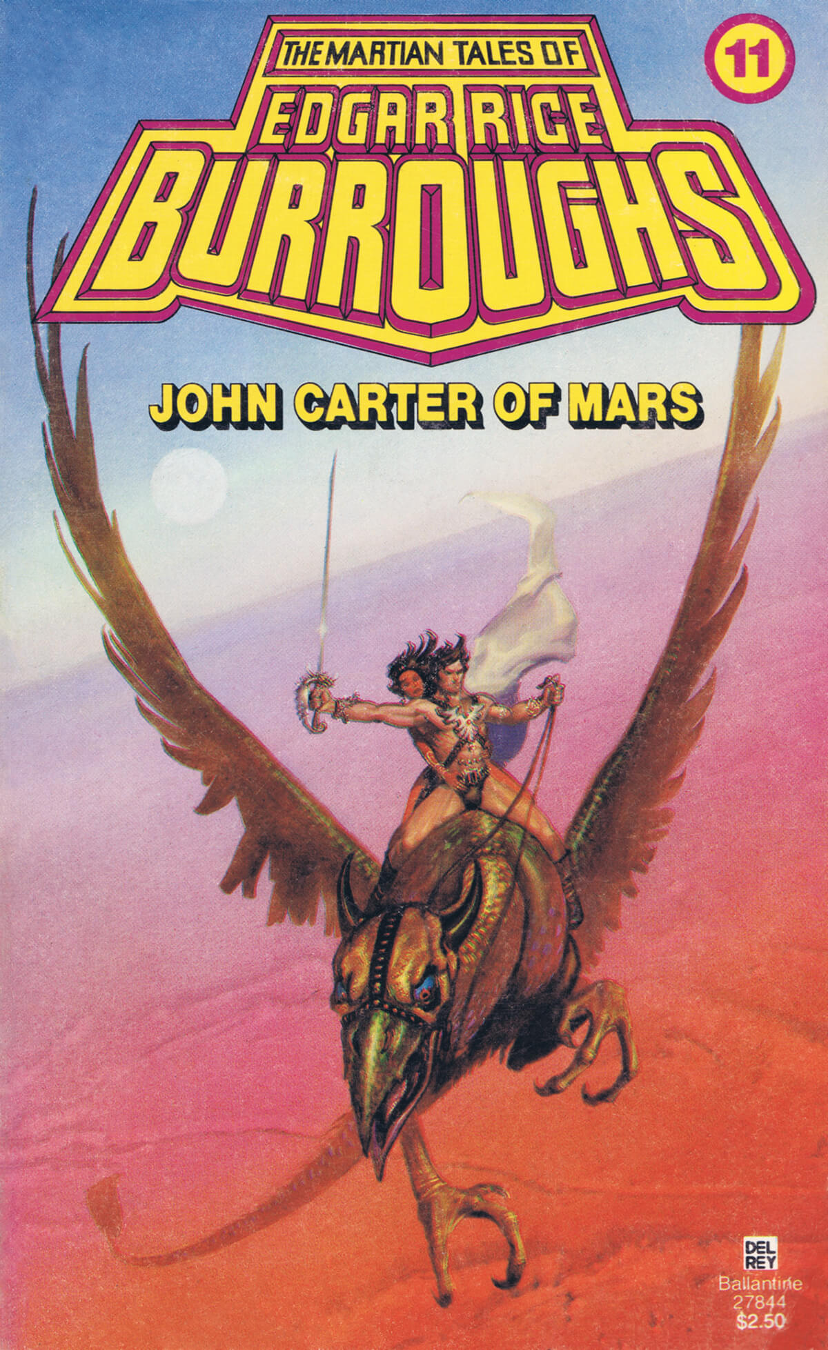 Michael Whelan 11 John Carter Of Mars Cover