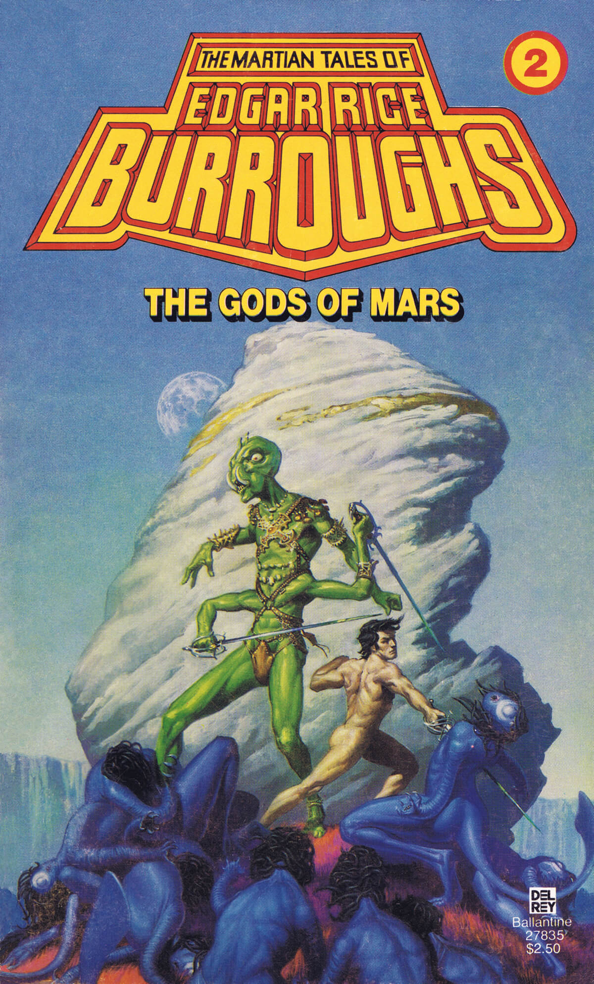 Michael Whelan 2 The Gods Of Mars Cover