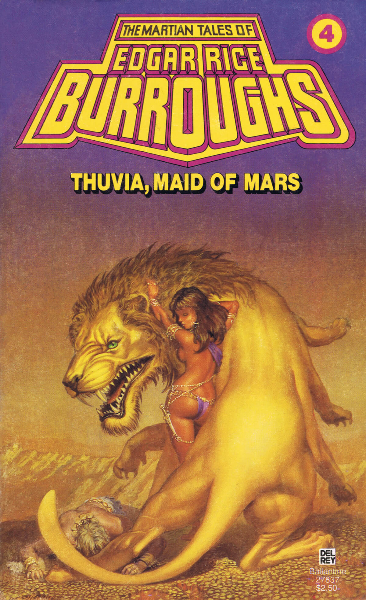 Michael Whelan 4 Thuvia Maid Of Mars Cover