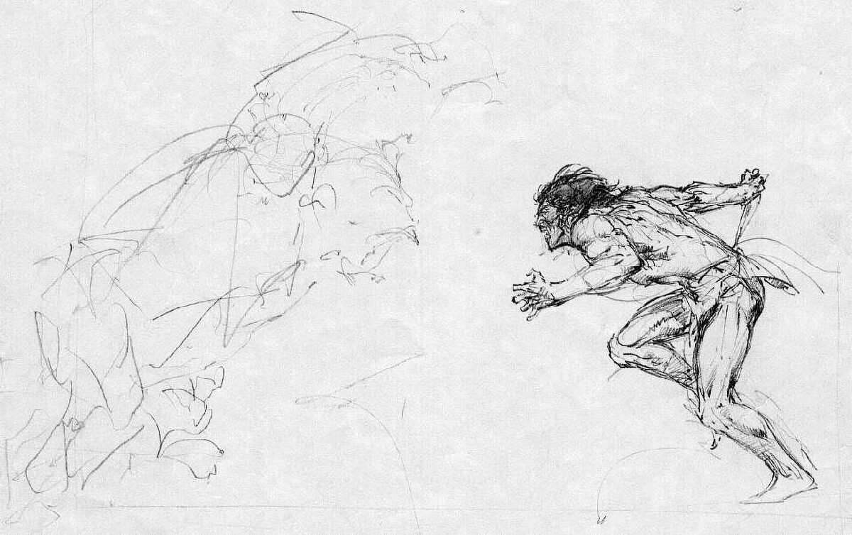 Neal Adams 1 Tarzan Of The Apes Rough