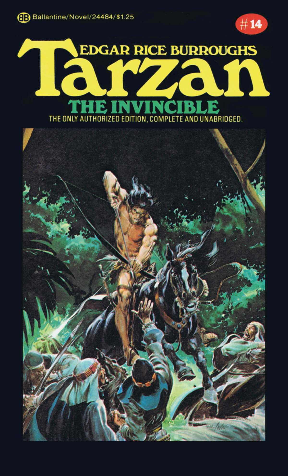 Neal Adams 14 Tarzan The Invincible Cover