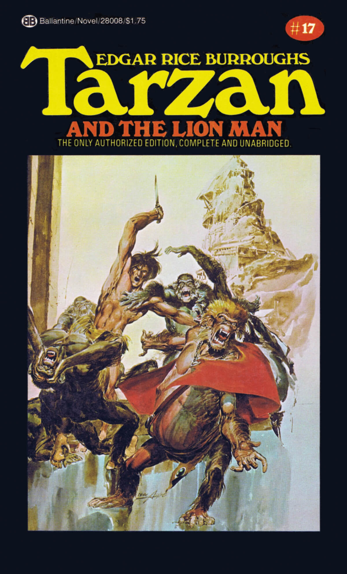 Neal Adams 17 Tarzan And The Lion Man Cover