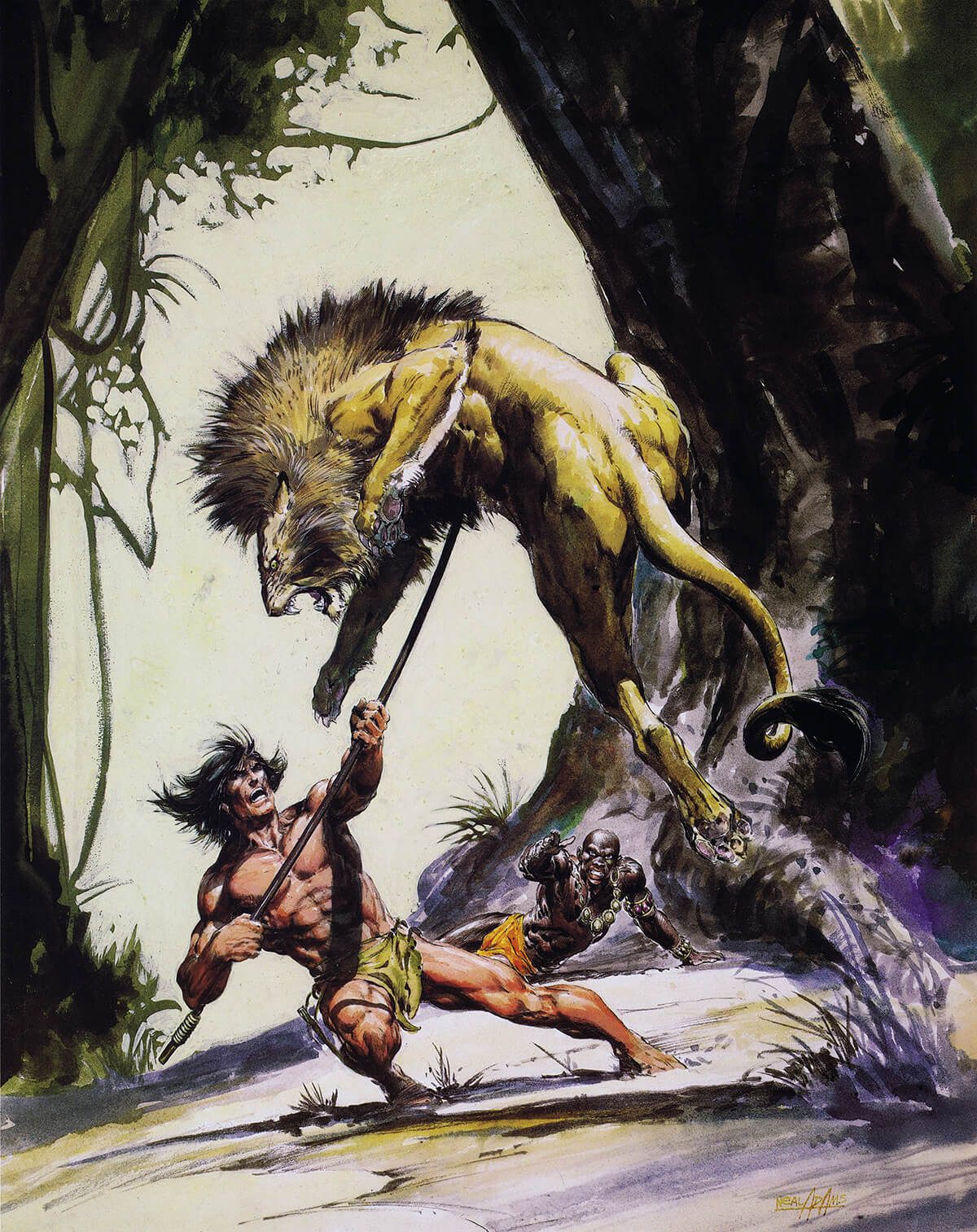 Neal Adams 2 The Return Of Tarzan Original