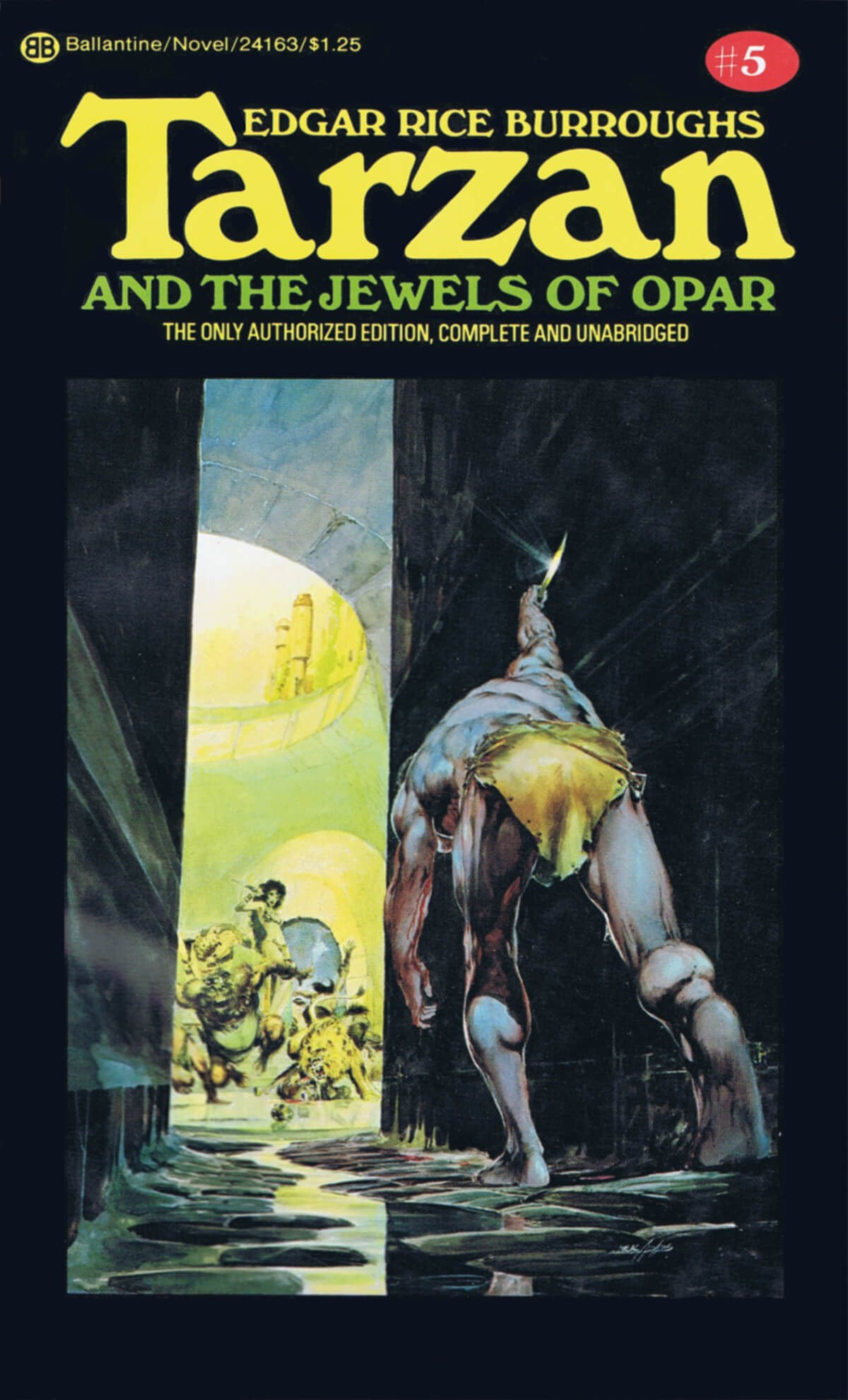 Neal Adams 5 Tarzan And The Jewels Of Opar Cover